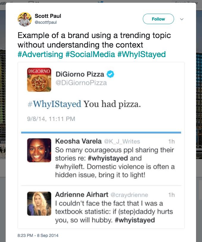 dumb tweets from brands