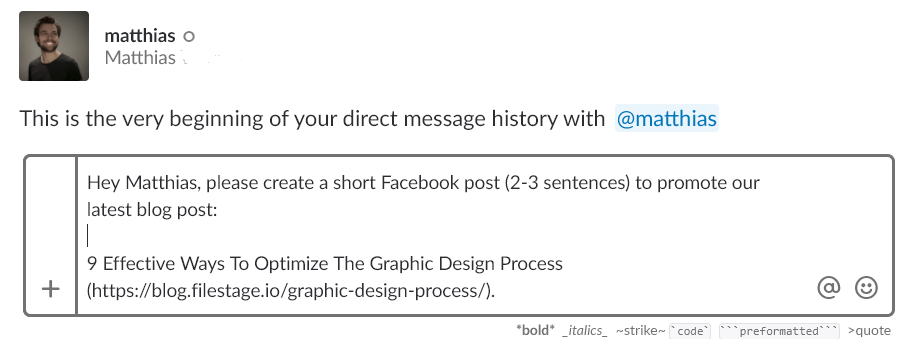 brainstorming techniques tasks email