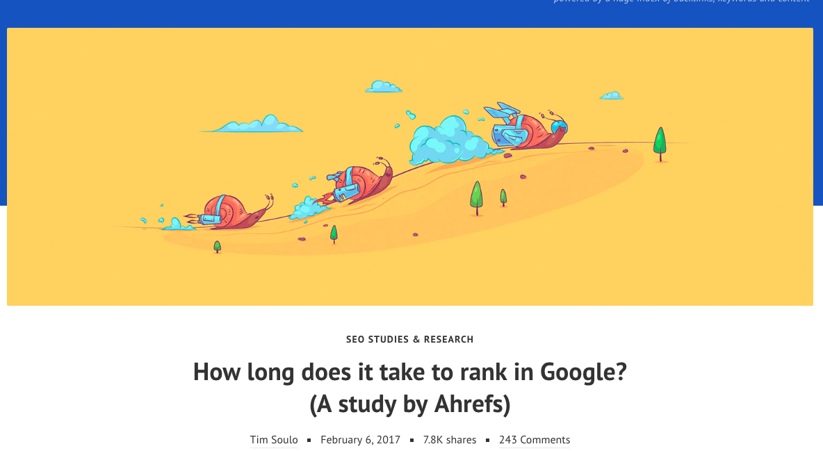 how long does it take to rank on google