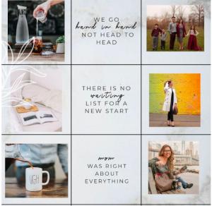 instagram grid ideas