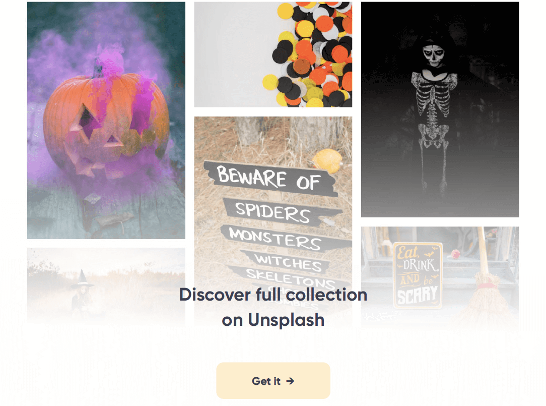 Halloween Unsplash collection
