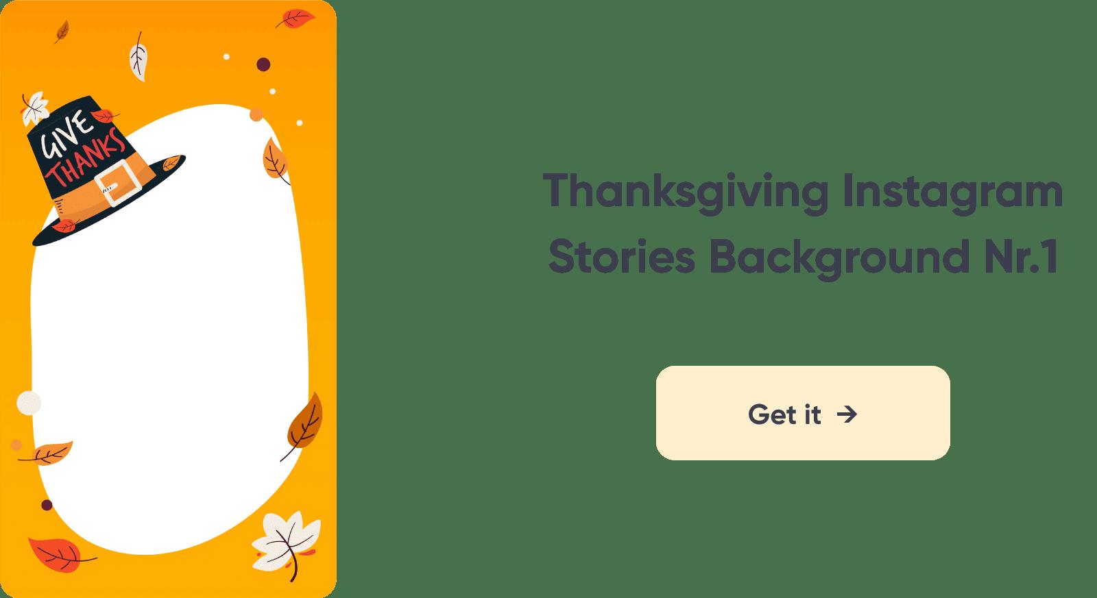 Thanksgiving Instagram Story Design 1