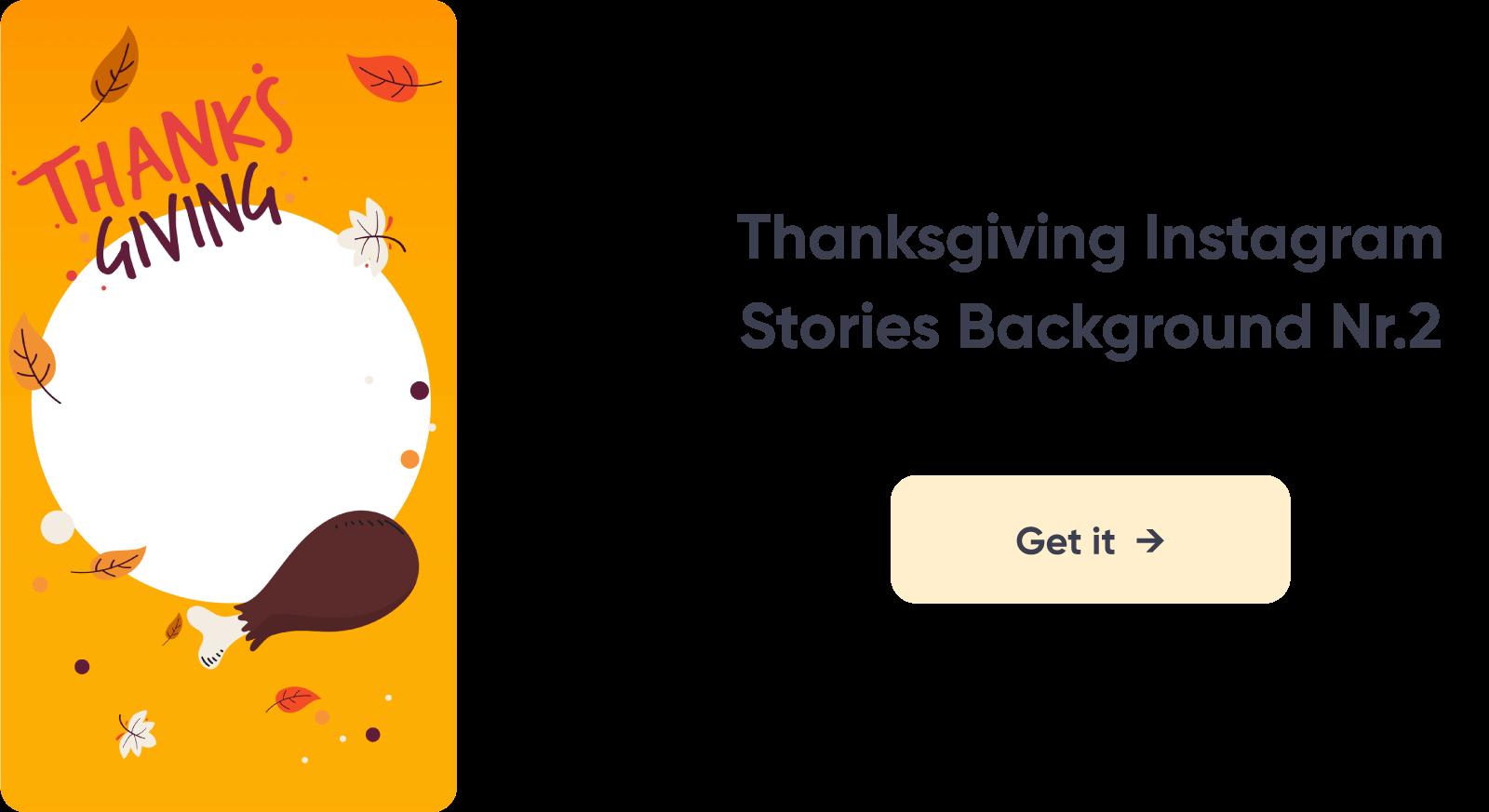 Thanksgiving Instagram Story Design 2