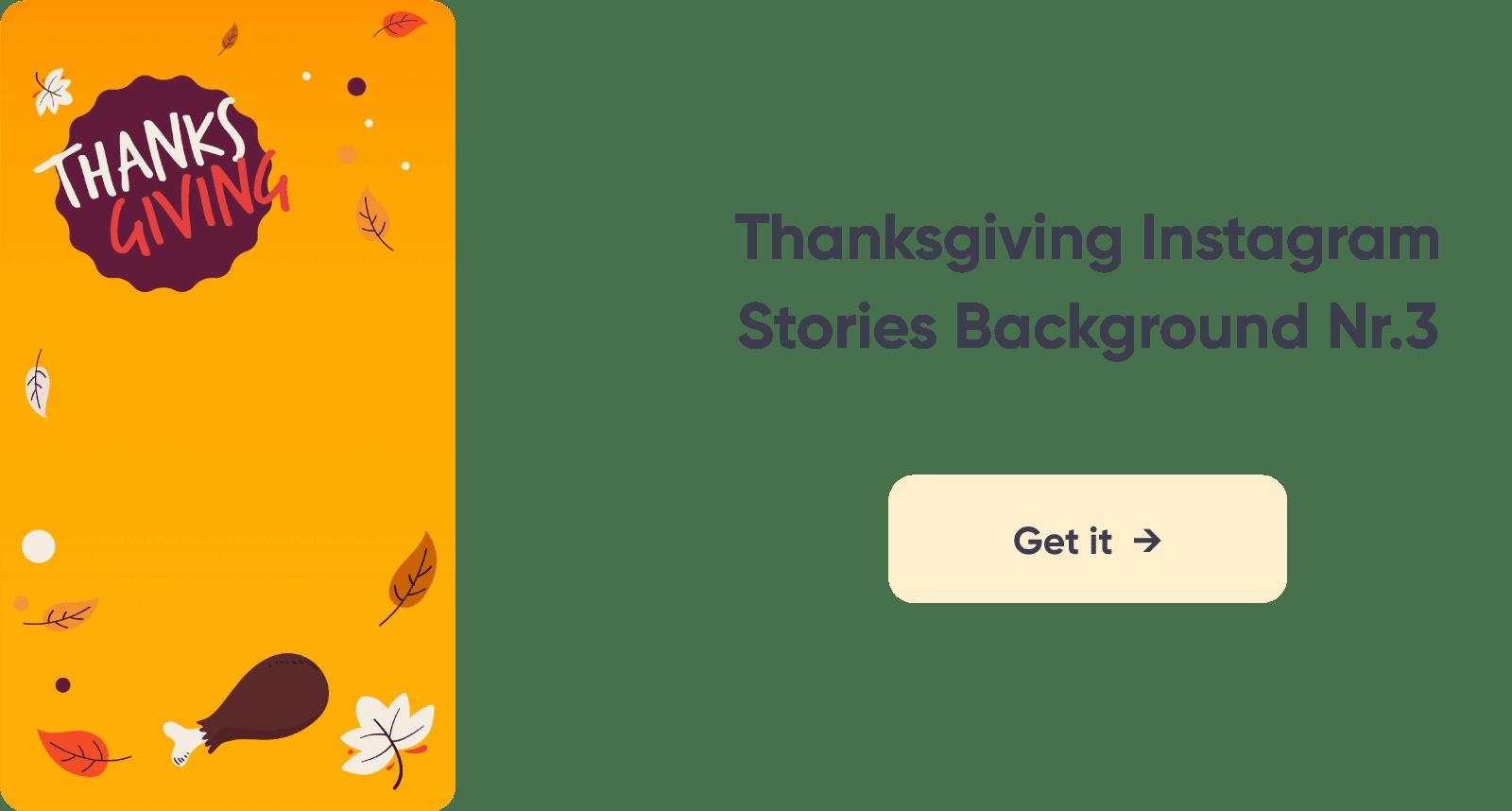 Thanksgiving Instagram Story Design 3
