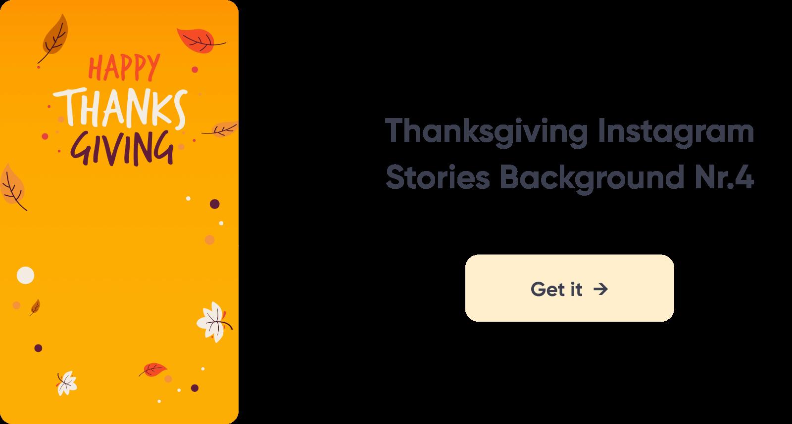 Thanksgiving Instagram Story Design 4