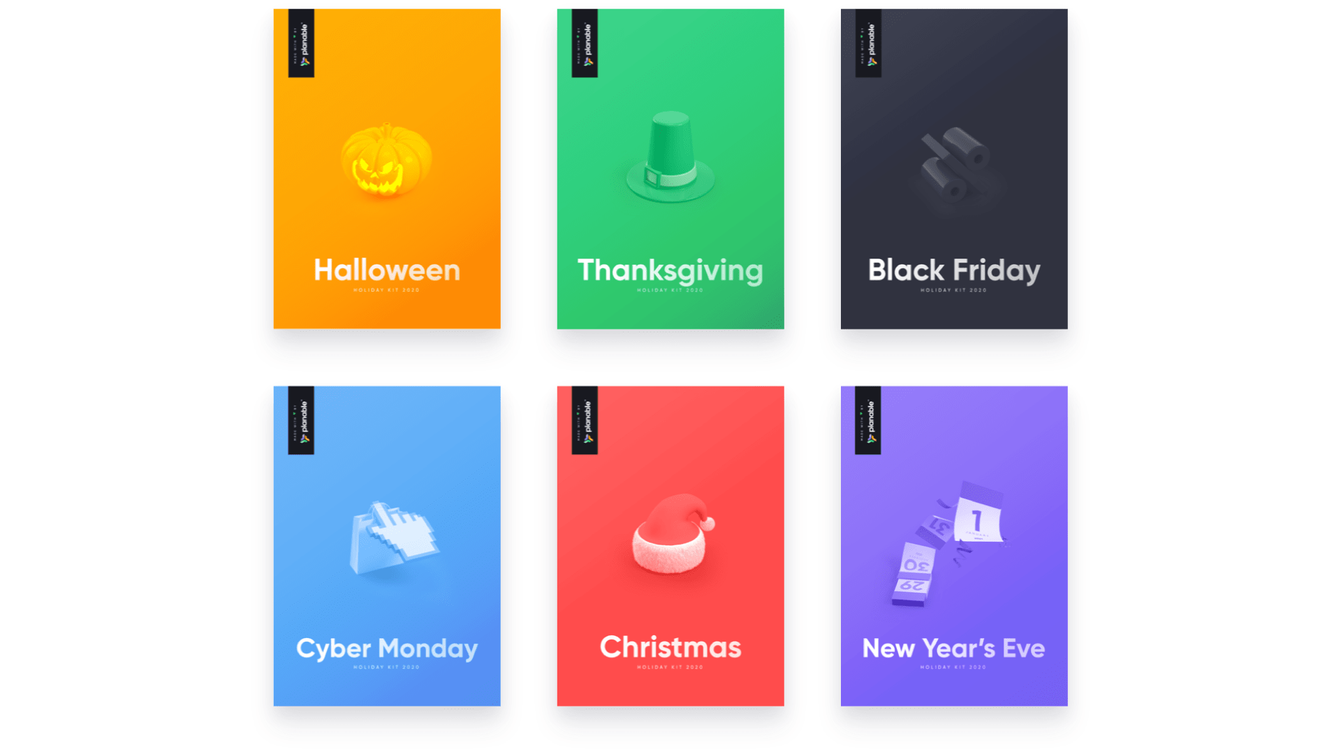 Holiday Brand Halloween 2020 Collection Free Marketing Holiday Kit – Planable