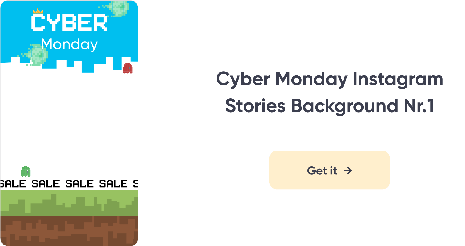 Cyber Monday Instagram Background 1