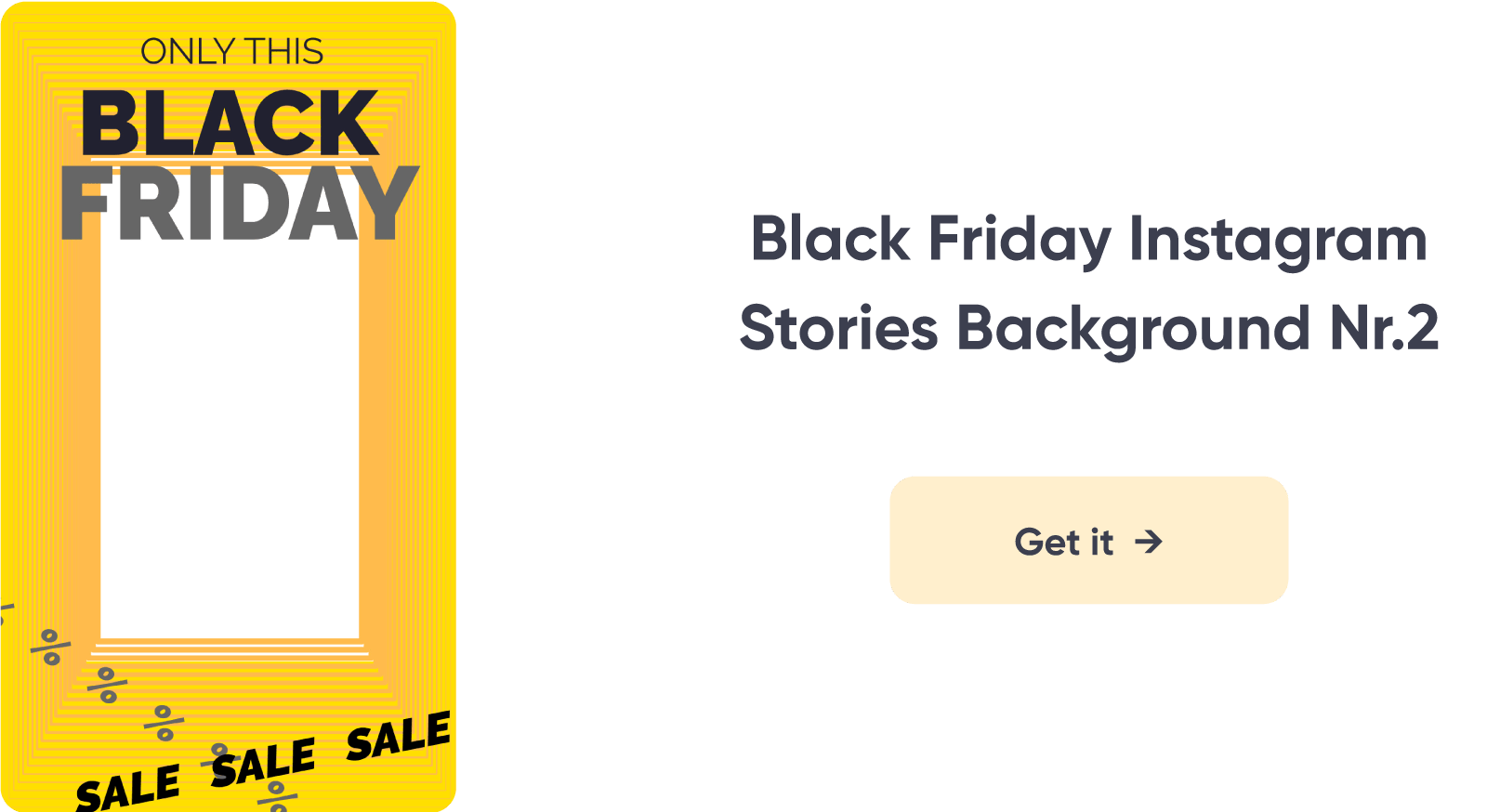 Black Friday Instagram Stories Background 2