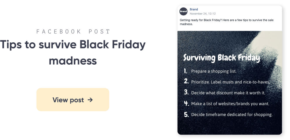 Black Friday post template 5