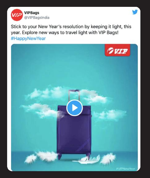 VIPbags NYE ad