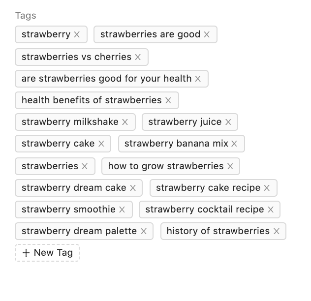 planable youtube marketing tags