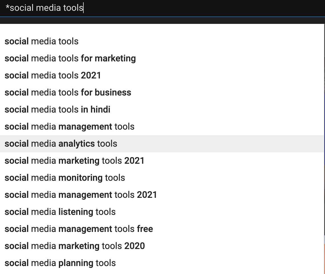 youtube marketing planable tags